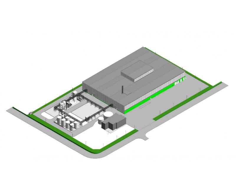 BioRen pilot plant at Ostend, Belgium